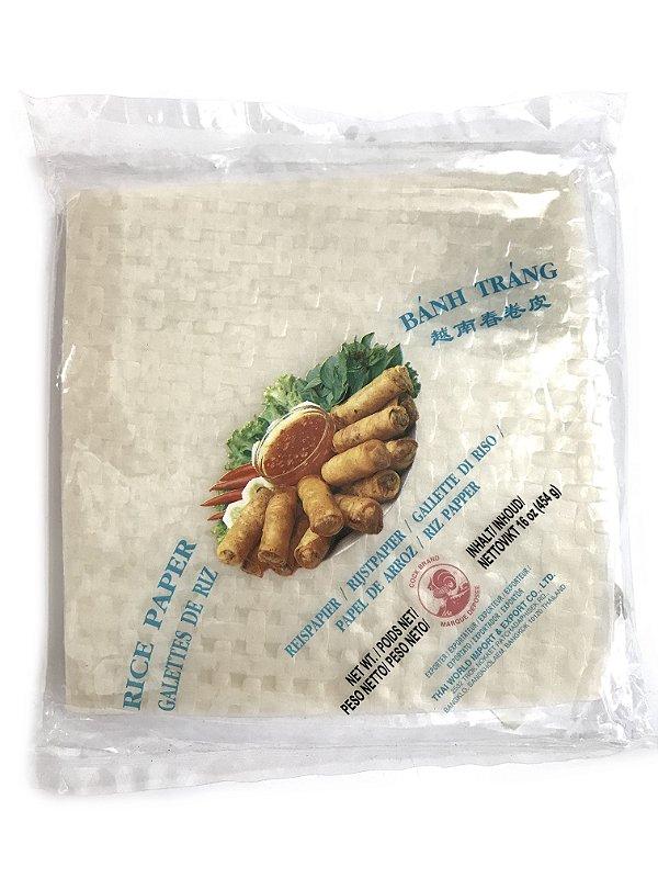 Papel de Arroz Quadrado Cock Rice Paper Square