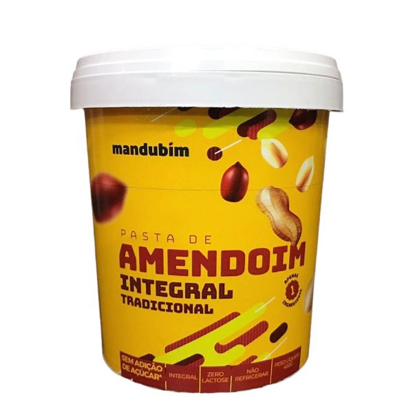 Pasta de Amendoim Integral 450g Mandubim