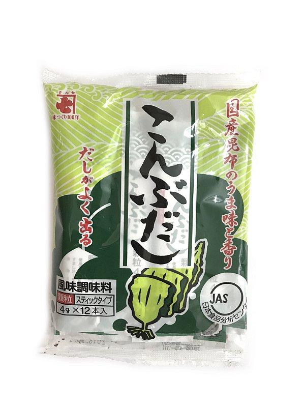 Tempero Japonês Kombu Dashi Verde 48g Kaneshiti