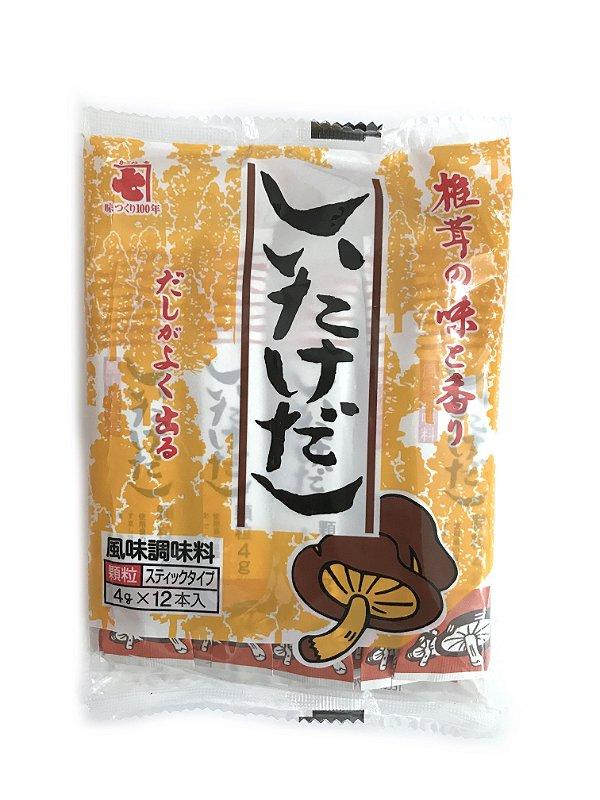 Tempero Japonês Shiitake Dashi Amarelo 48g Kaneshiti