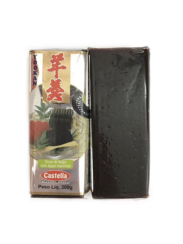 Yookan Doce de Feijão com algas marinhas 200g Castella