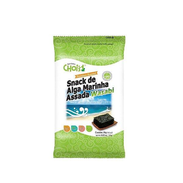 Alga Marinha Temperada Wasabi 10g Choi's Snack