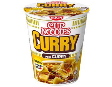 Macarrão Instantâneo em Copo Sabor Curry Cup Noodles