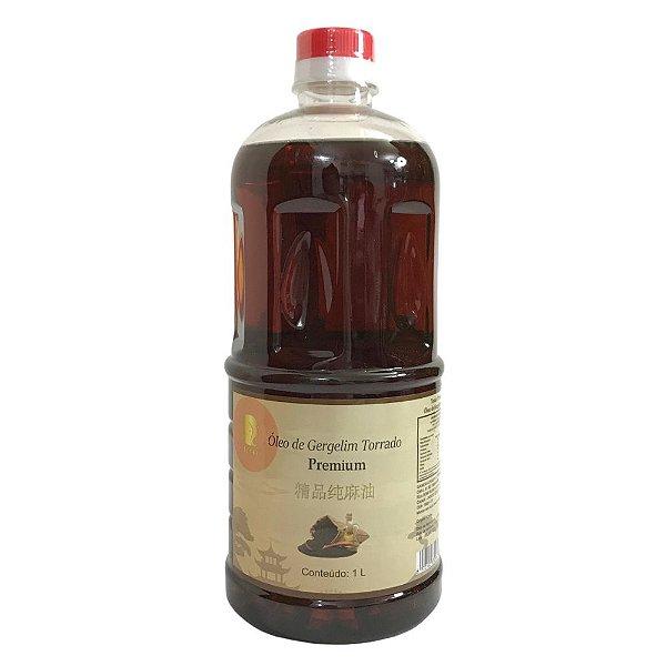 Óleo de Gergelim Torrado Premium 1 litro Tenka