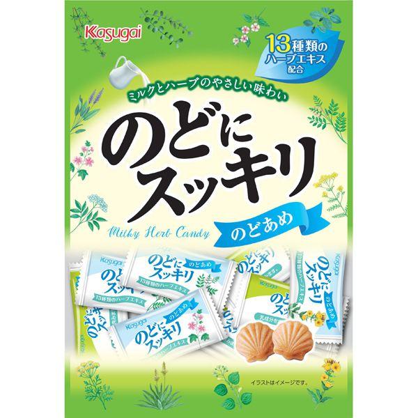 Bala Japonesa Refrescante com Leite Kasugai Nodo ni Sukkiri