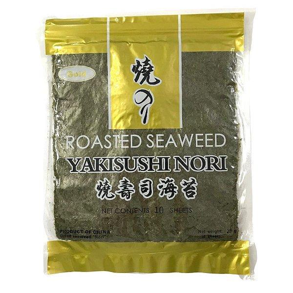 Alga para Sushi - 10 Folhas - Nori Toplacker