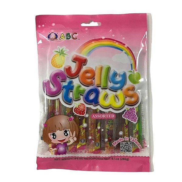 Geladinho de Frutas Mistas 260g ABC Jelly Straws