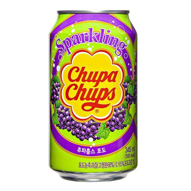 Bebida Gaseificada de Uva 345ml Chupa Chups