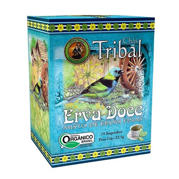 Chá Erva Doce - 15 sachês - Tribal Brasil