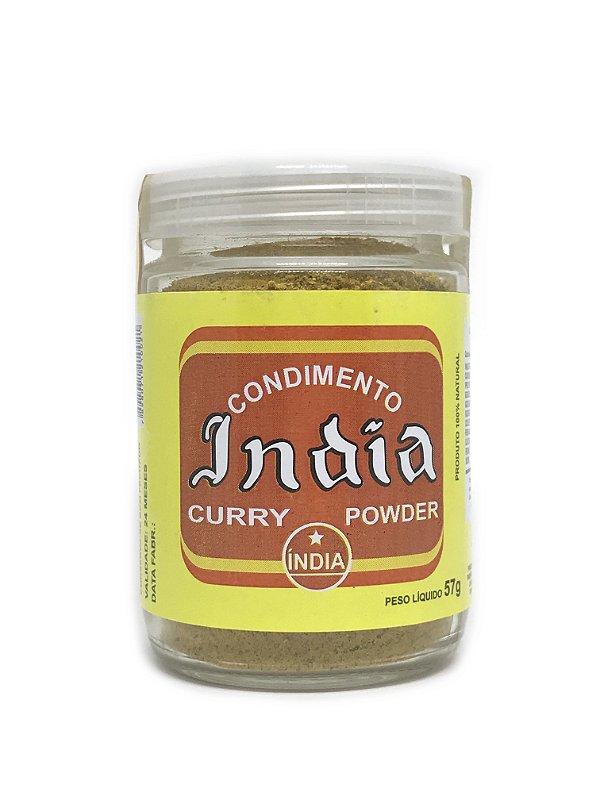 Curry em Pó Condimento da India 57g Curry Powder