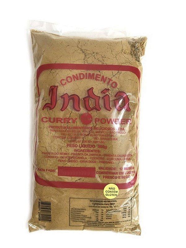 Curry em Pó Condimento da India 500g Curry Powder