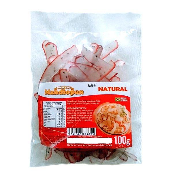 Mandiopan Natural 100g Novo Mandiopan