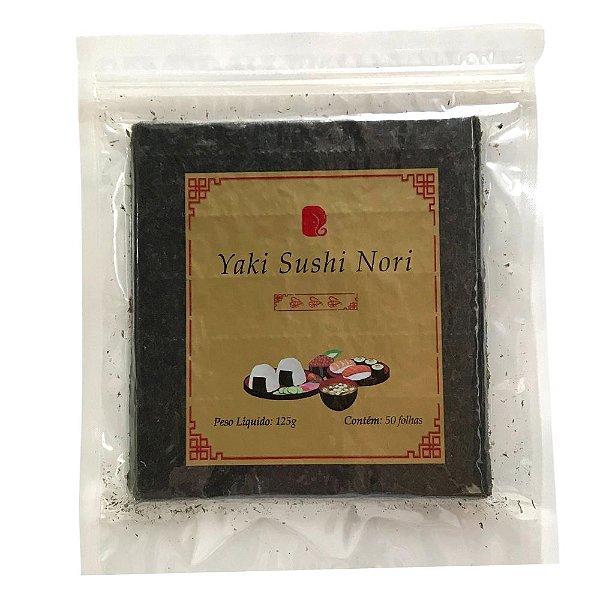Alga para Sushi - 50 Folhas - Nori Ganesh