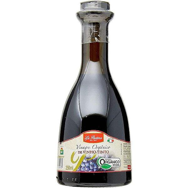 Vinagre Orgânico de Vinho Tinto 250ml La Pastina