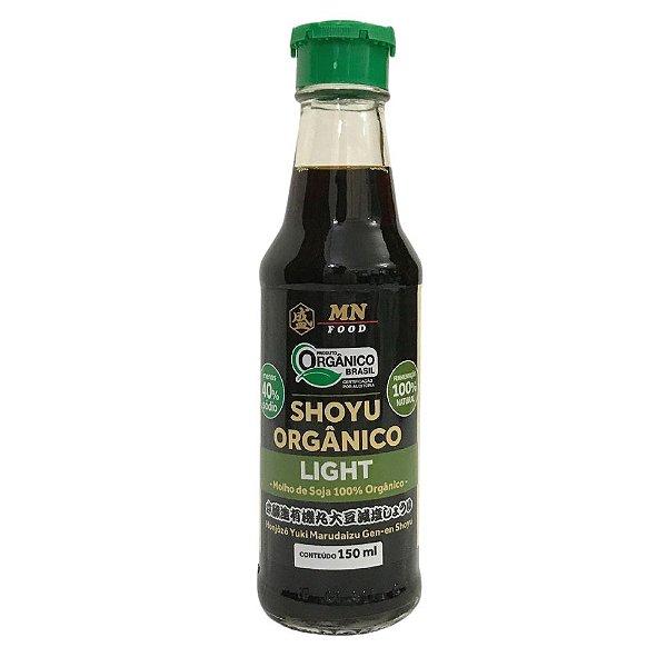 Molho de Soja Shoyu Orgânico Light 150ml MN Food