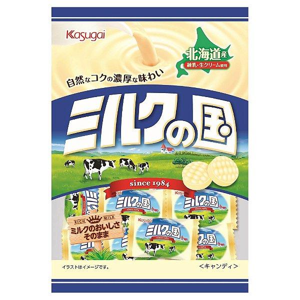 Bala Japonesa de Leite 80g Kasugai Milk no Kuni