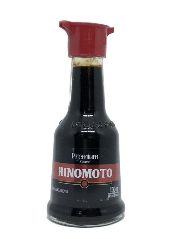 Molho de Soja Shoyu Premium 150ml Molheira Hinomoto