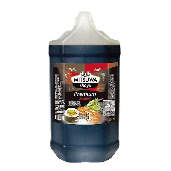 Molho de Soja Shoyu Premium 5 litros Mitsuwa