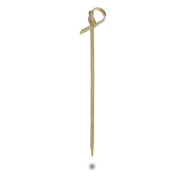 Espeto de Bambu com Nó - Stick / Skewer Bamboo 12cm 50 unidades