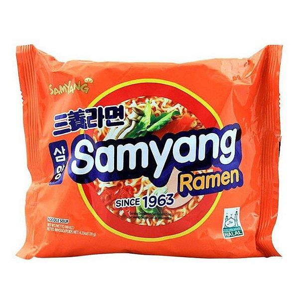 Macarrão Instantâneo Coreano Picante Samyang Ramyun 120g Samyang