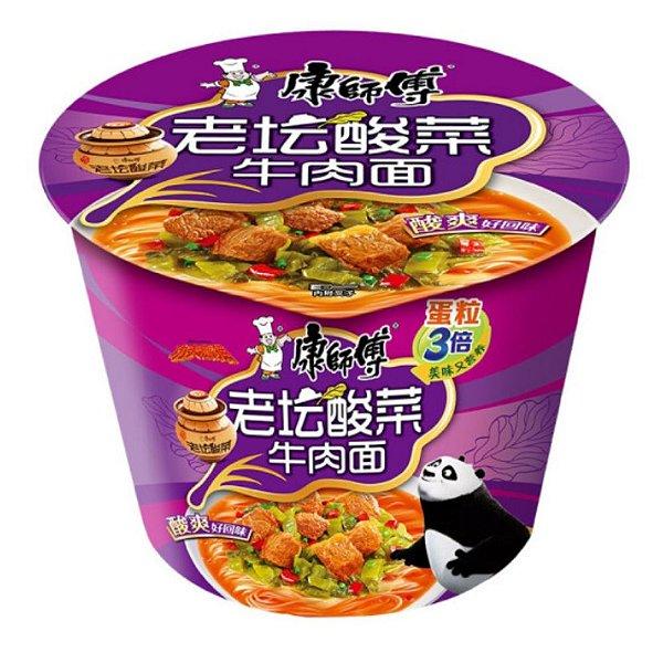 Macarrão Instantâneo em Copo Sabor Carne Guanzhou