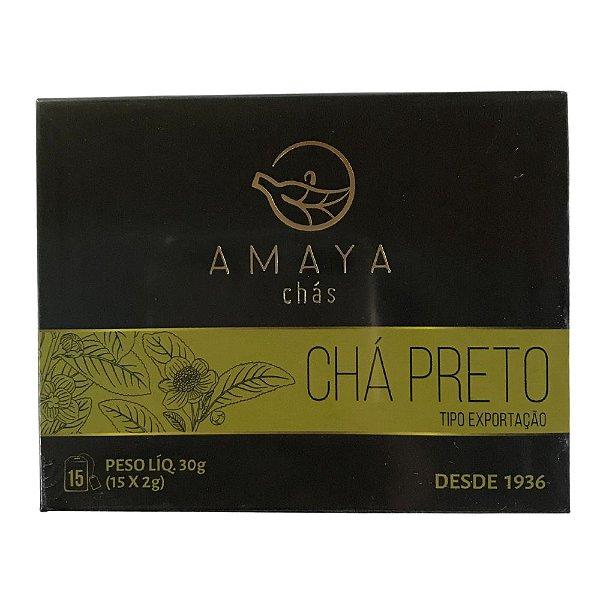 Chá Preto 15 sachês Amaya