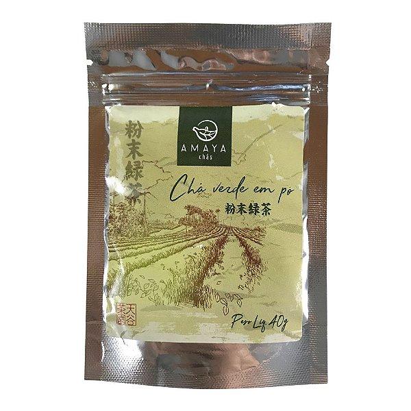 Chá Verde em Pó 40g Amaya