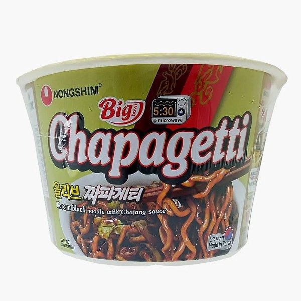 Macarrão Instantâneo em Copo Sabor Chapagetti Big Bowl Noodle Nongshim