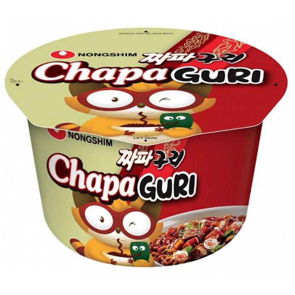 Macarrão Instantâneo em Copo Sabor Chapaguri Big Bowl Noodle Nongshim