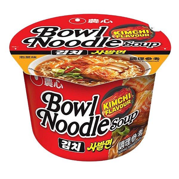 Macarrão Instantâneo em Copo Sabor Kimchi Bowl Noodle Nongshim