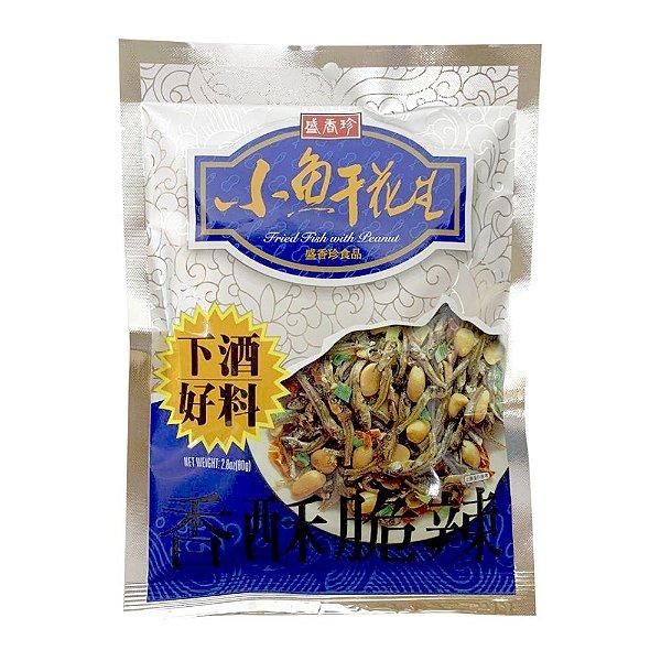Salgadinho de Peixinho Seco com Amendoim Triko