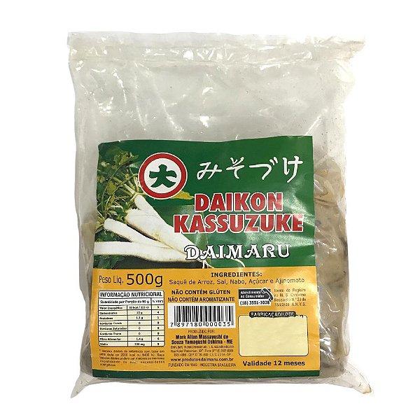 Conserva de Nabo Daikon Kassuzuke 500g Daimaru