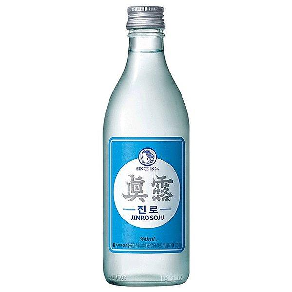 Bebida Coreana Soju Jinro Chamisul Is Back 360ml Hitejinro
