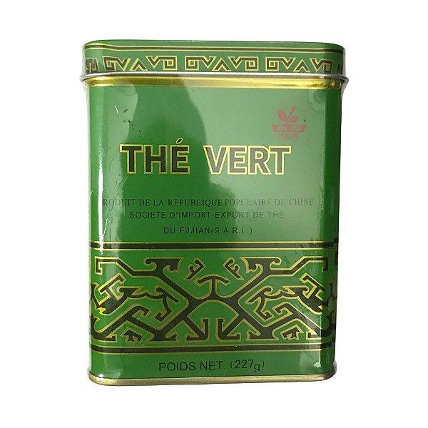 Chá Verde em Lata 227g Fujian
