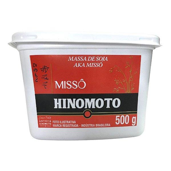 Massa de Soja Missô Aka 500g Hinomoto