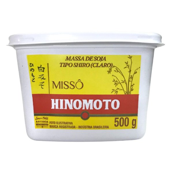 Massa de Soja Missô Shiro 500g Hinomoto
