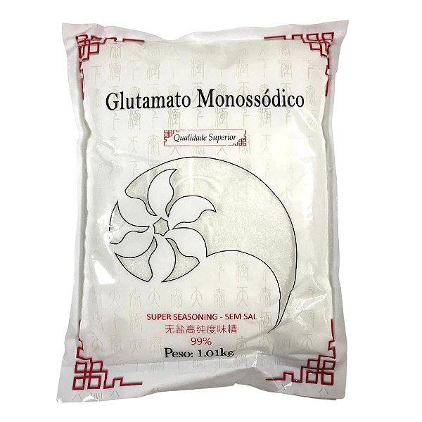 Glutamato Monossódico Realçador de Sabor 1kg Ganesh