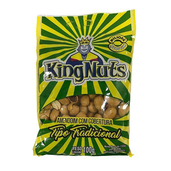 Amendoim com Cobertura Tradicional 100g KingNuts