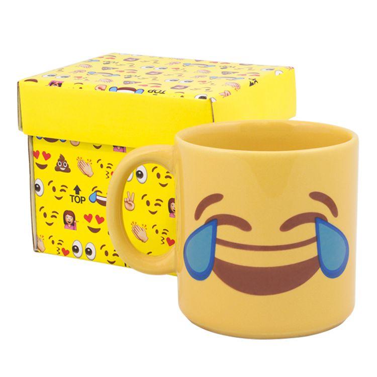 Caneca Divertida Emoji - Risos