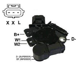 Regulador de Voltagem Punto Palio Stilo 1.8 Fiesta Courrier