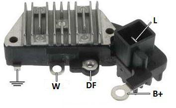 Regulador de Voltagem Volvo S40 740 940 Denso IK5825