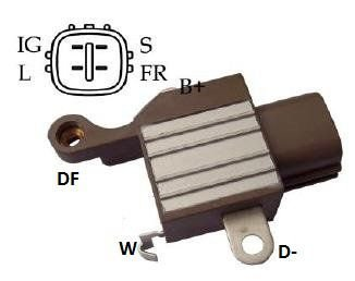 Regulador de Voltagem Camry 3.5 V 2007 e 2008 Nippodenso