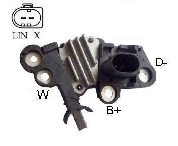 Regulador de Voltagem LandRover Evoque Bosch IK5346