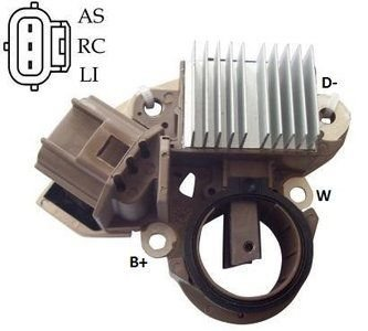 Regulador de Voltagem Ford Fusion SEI 2003 à 2008 Ford Edge IK5970