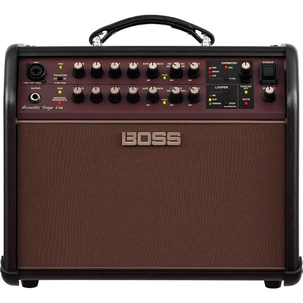 Amplificador Boss Para Voz E Violão Acoustic Singer Live 60w