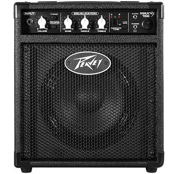"""Amplificador Para Baixo Peavey Max II 158 8"""" 20W"""