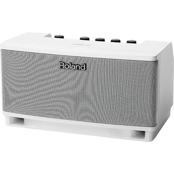 Amplificador Para Teclado Roland Cube Lite Branco