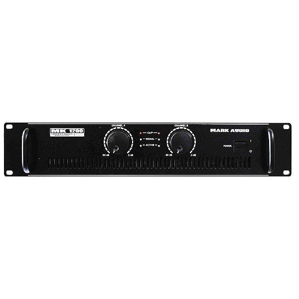 Amplificador Potência 200w Mark Audio Mk 1200