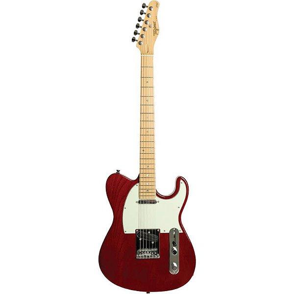 Guitarra Tagima T855 Telecaster Hand Made In Brazil Vermelho Metálico