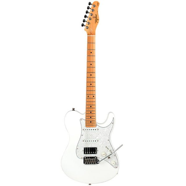 Guitarra Tagima T-930 Série Brasil Branca Escala Clara